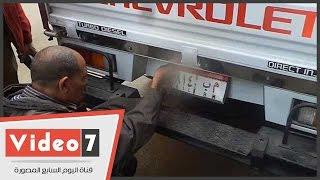 محافظ القاهرة يقود حملة مفاجئة لضبط المخالفات بوسط البلد ويتحفظ على لوحات سيارات