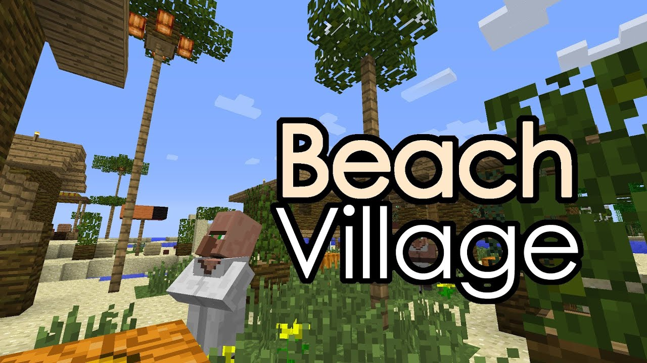 Minecraft beach hut images galleries for How to build a beach bar