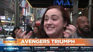 A triumph for Avenger's Endgame as movie breaks Box Office record | GME