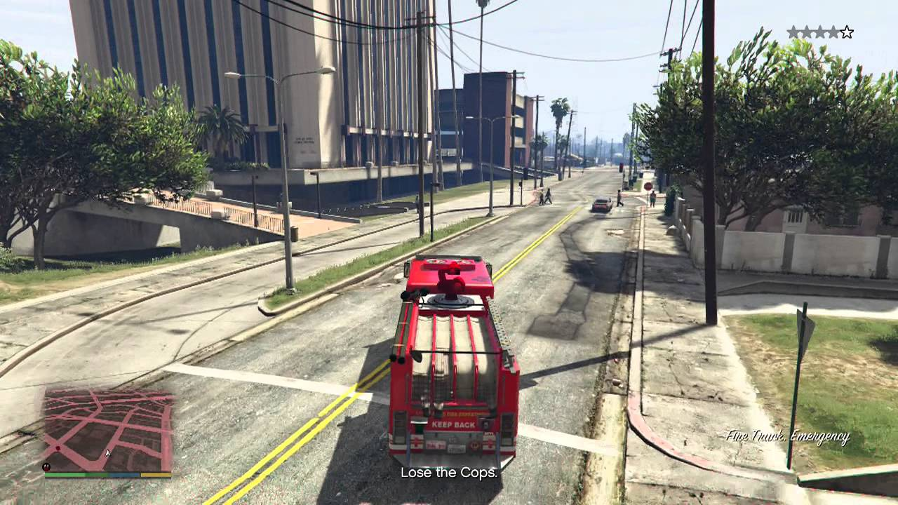 Fire station location in gta v how to get the firetruck for the