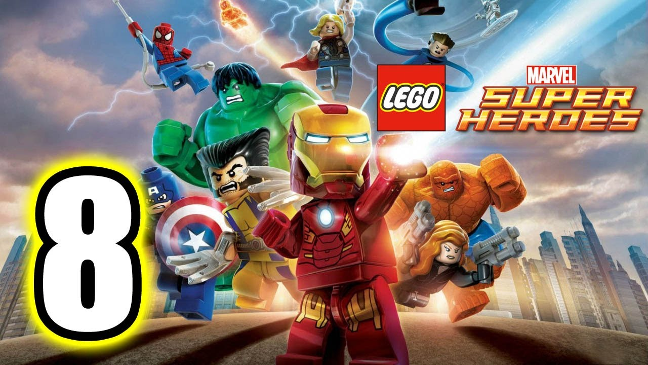 marvel lego part 8