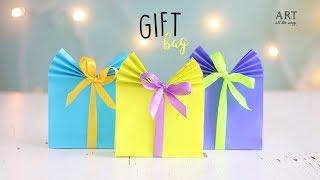 DIY Paper Gift Bag (Easy) | Paper Craft Ideas