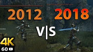 [4K 60FPS] Dark Souls Remastered ? | Vanilla DS VS Modded 2018 Comparison
