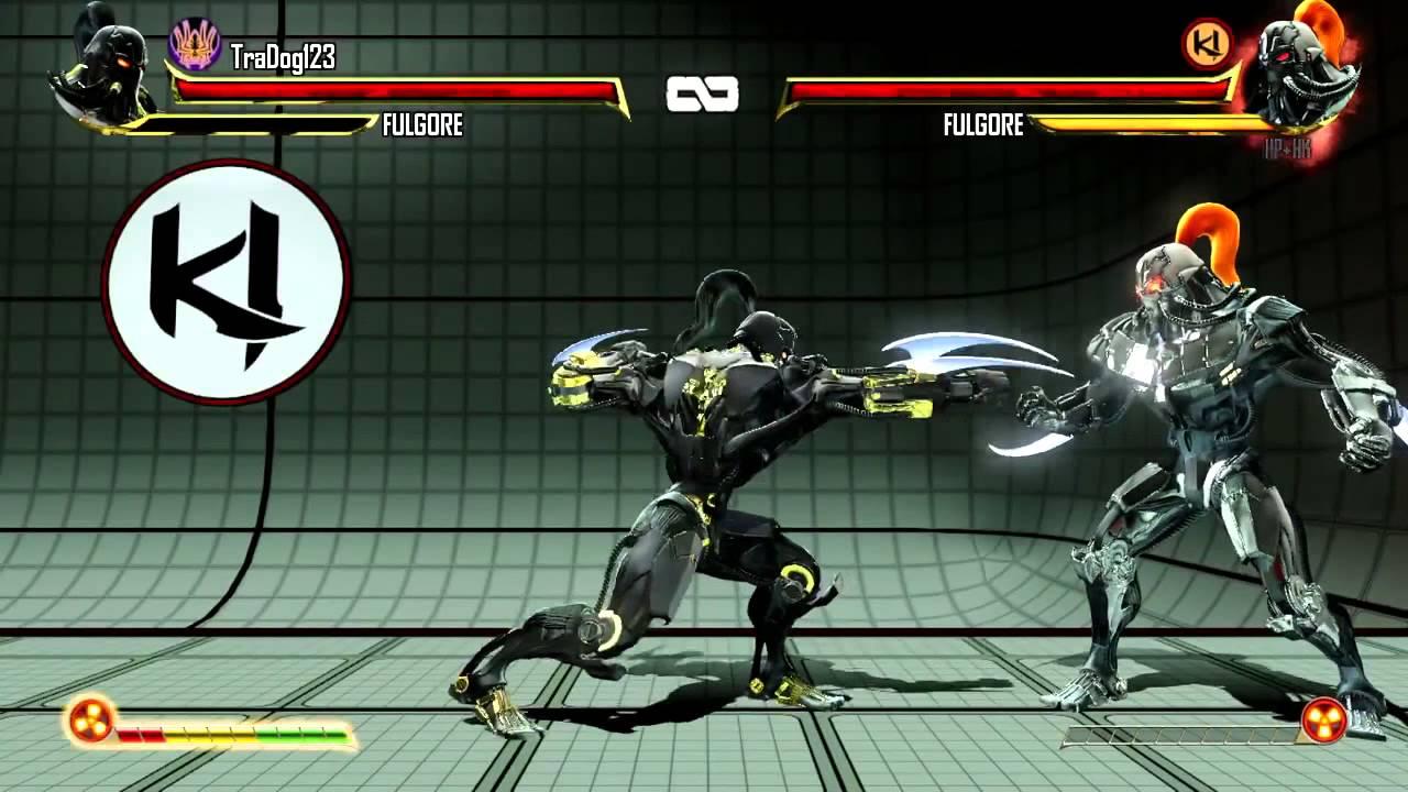 Xbox One Killer Instinct Fulgore Gameplay Move List