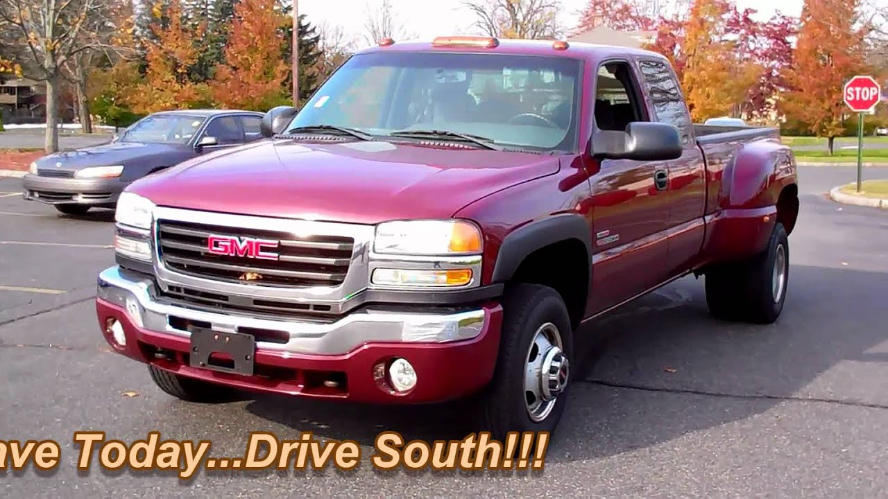 2003 gmc sierra 3500 sle 4wd extended cab dually 6 6l. Black Bedroom Furniture Sets. Home Design Ideas