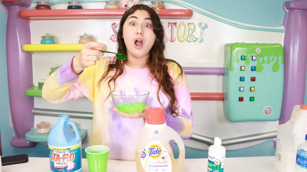 Mixing All Slime Activators Together Slimeatory 420