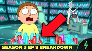 "Rick and Morty 3x08 ""Morty's Mind Blowers"" - Every Joke You Missed! (Was the Moon Man Real?)"