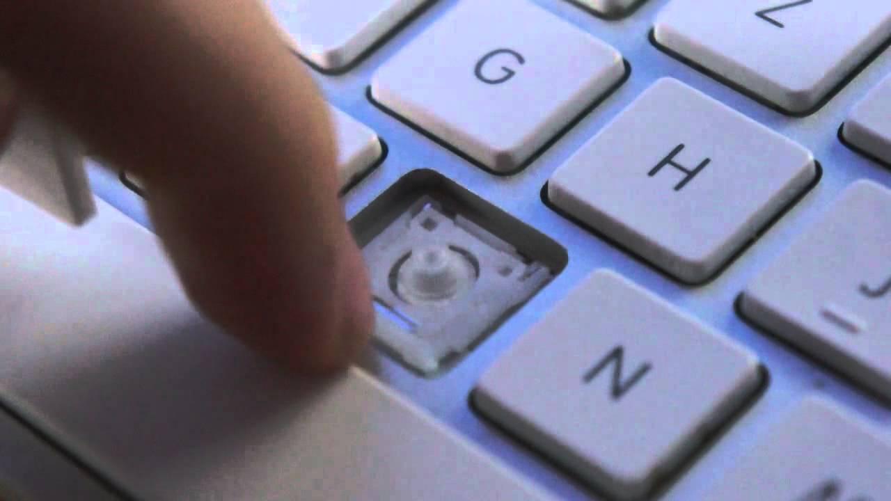 Apple Wireless Keyboard - Tasten Entfernen