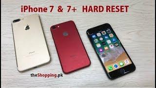 iPhone 7 Hard Reset | iPhone 7+ Hard Reset