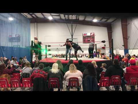 Crosshairs Kelly and Pat The Bruiser vs. Maxx Power and The Juggulator 12-9-17