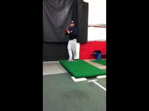 Daniel harms pitching