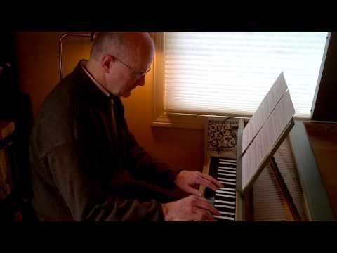 Edward Clark plays Bach on his lautenwerk.