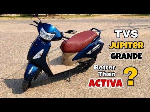 TVS Jupiter Grande (Disc Brake) Review with Pros & Cons, better than Honda Activa???