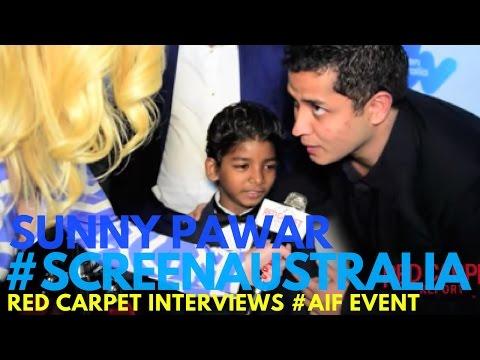 Sunny Pawar #Lion interviewed at the 2017 Australian Oscar Nominees Reception #ScreenAustralia #AIF