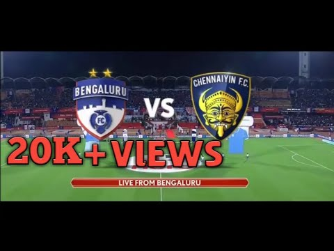 HERO INDIAN SUPER LEAGUE|CHENNAIYIN FC VS BENGALURU FC|FINAL MATCH ISL |FOOTBALL|ISL SEASON 4 FINAL