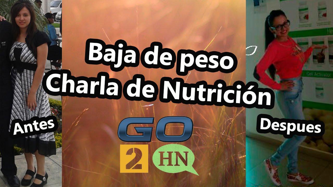 Baja de Peso - Presentación de Nutrición