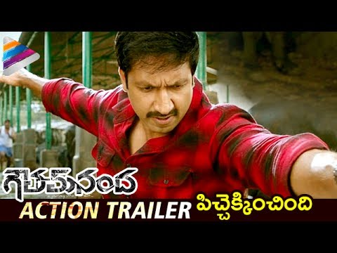 Thumbnail: Goutham Nanda Action Trailer | Gopichand | Hansika | Catherine | Latest Telugu Movie Trailers