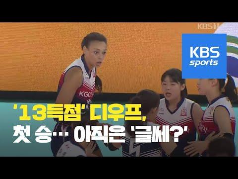 '1순위' 디우프, 아직은 물음표 / KBS뉴스(News)