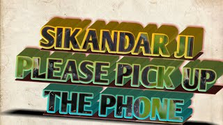 #ChandanTechguru# Sikandar Ji Name Ringtone।। Name Ringtone Sikandar ji । Please Pick Up The Phone।