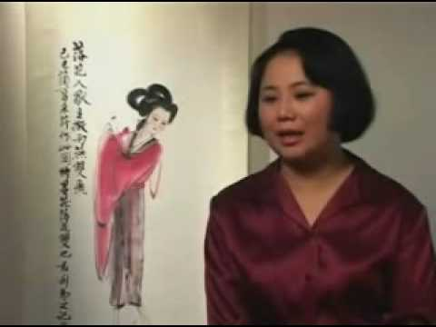Zhang Cui Ying - traditional chinese artist PART 3