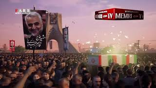 Iranian Animation Depicts Missiles Destroying US Military Base in Revenge for Killing of Soleimani