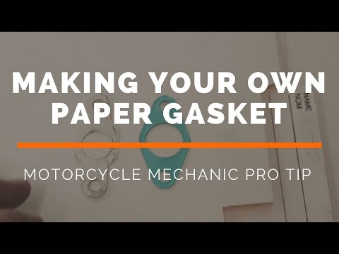 Make Your Own Paper Gasket
