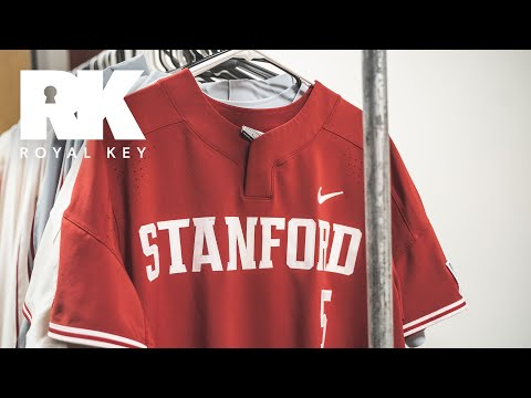 We Toured The STANFORD CARDINAL BASEBALL Equipment Room | Royal Key | Coiski
