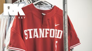 We Toured STANFORD Baseball's AWESOME Equipment Facility   Royal Key