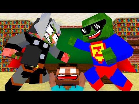 Monster School : BREWING SUPER HEROES CHALLENGE - Minecraft Animation