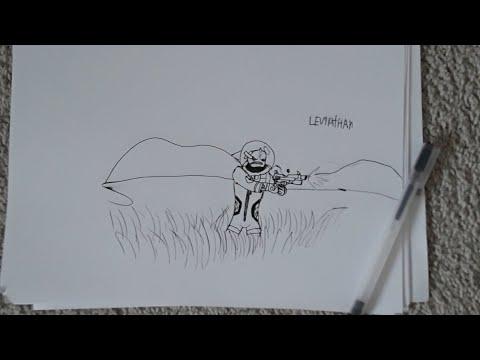 Leviathan Skin Fortnite Tekenen Youtube