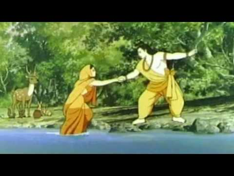 7 min. animated Ramayana set to