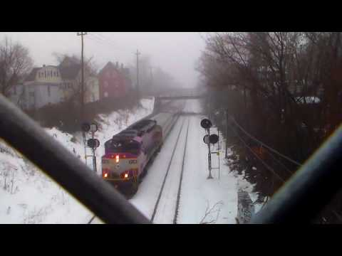 Mbta Trains at Swampscott/Lynn!:D