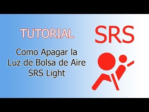 Tutorial: Como apagar la Luz SRS (Luz Bolsa de Aire) srs Light led