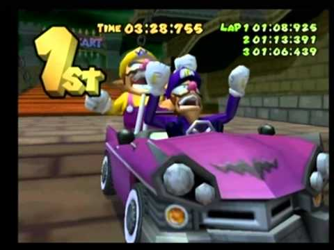 Kleurplaten Mario Kart 7.Mario Kart Double Dash Wario Waluigi Special Cup 100cc Part 2