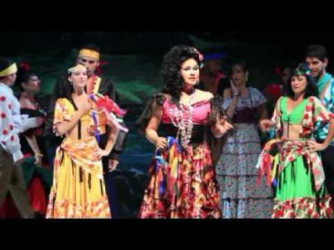 Gala por los 50 Años del Teatro Lírico Rodrigo Prats, Holguin, Cuba