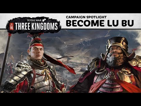 Total War: THREE KINGDOMS - How to play as Lu Bu
