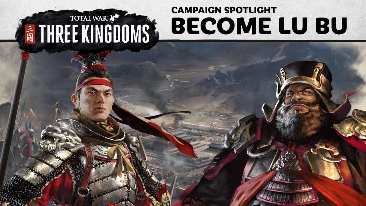 Total War: THREE KINGDOMS - How to play as Lü Bu