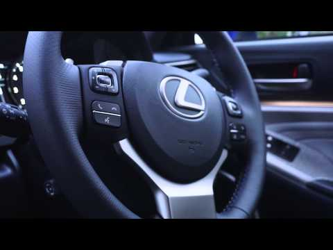 Picking up the new Lexus RC F
