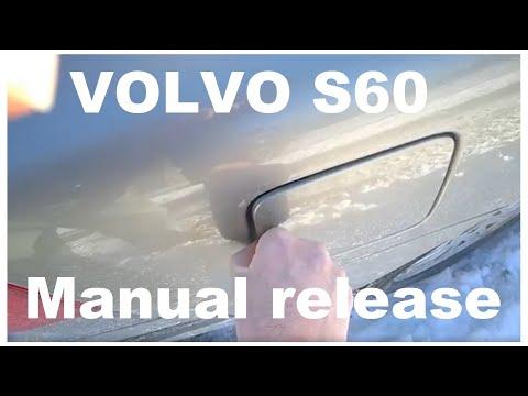 Volvo S60 V70 Fuel door problems Volvo 2001-2009