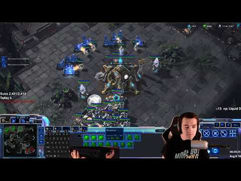 Starcraft 2 - Master Tier 1+ Random (Terran, Zerg & Protoss) Ladder & Commentary
