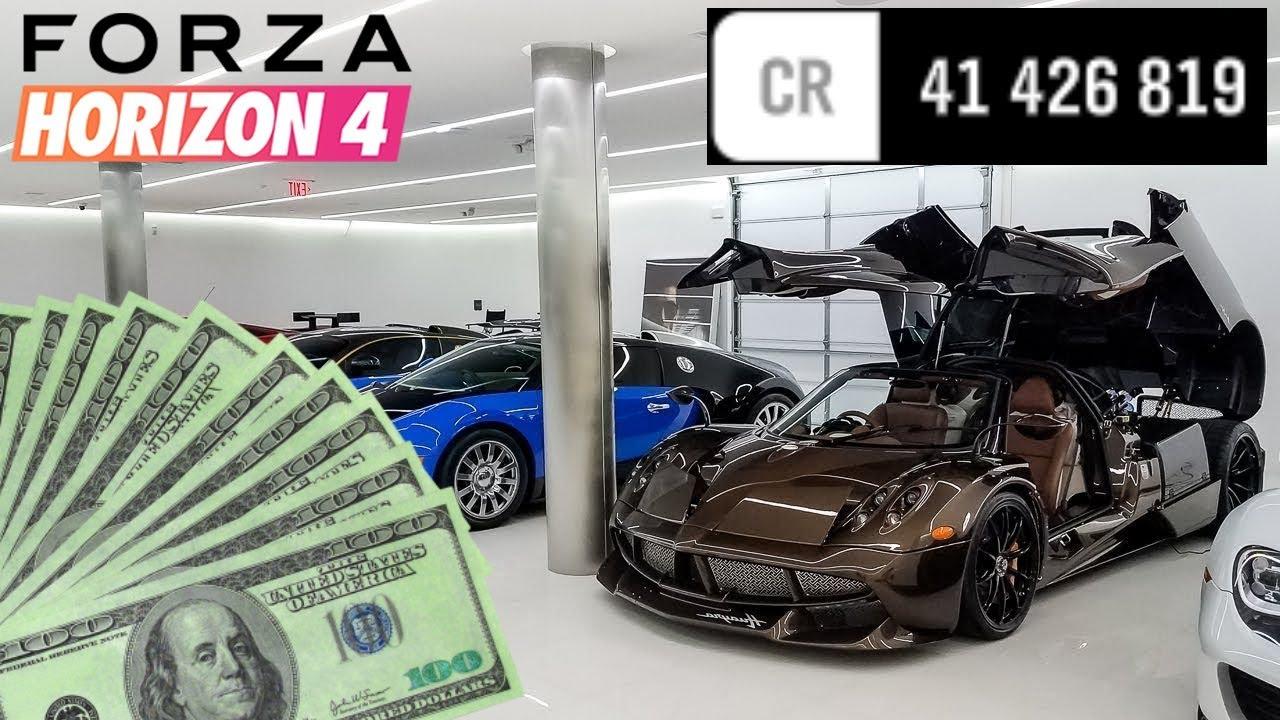 comment gagner de l argent forza horizon 4