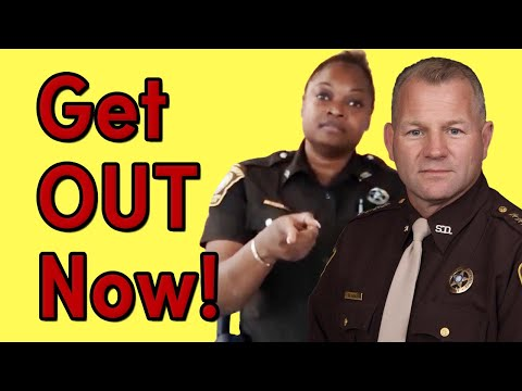 KICKED OUT For Filing Complaint At Troy Nehls' Sheriff's Office | Fort Bend County, Texas