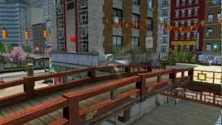 Lego City Undercover 100% Guide - Pagoda (overworld Area) - All Collectibles