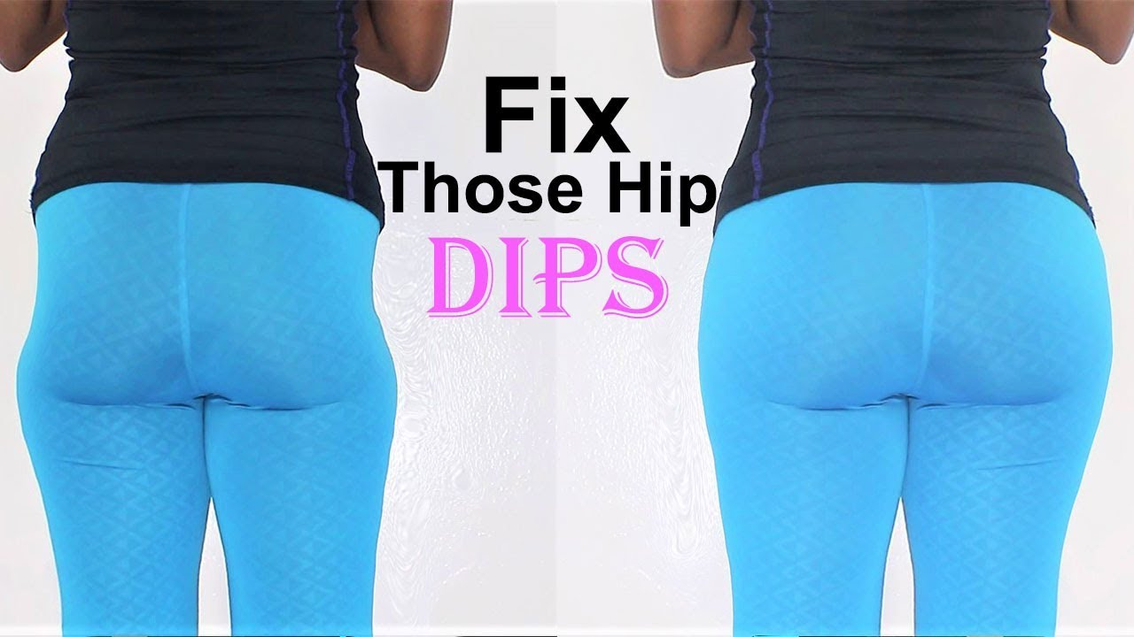 how to widen hips &FIX YOUR HIP DIPs|5 hip dip exercises for wider