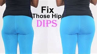 how to widen hips &FIX YOUR HIP DIPs|5 hip dip exercises for wider hips&large hips|hip dips workout