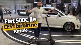 Bu da Fiat'ın Scooter'ı! Fiat 500C Scooter