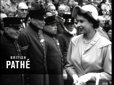 Royal Visit To The Duchy Of Cornwall (1952)