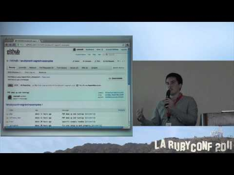 LA Ruby Conference 2011 - Working in Virtual Machines, the Vagrant Way