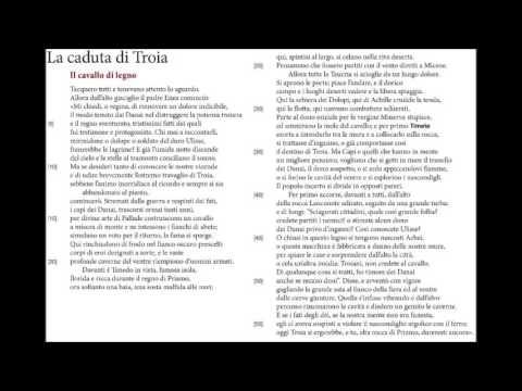 La caduta di Troia - Eneide II, vv. 1-56
