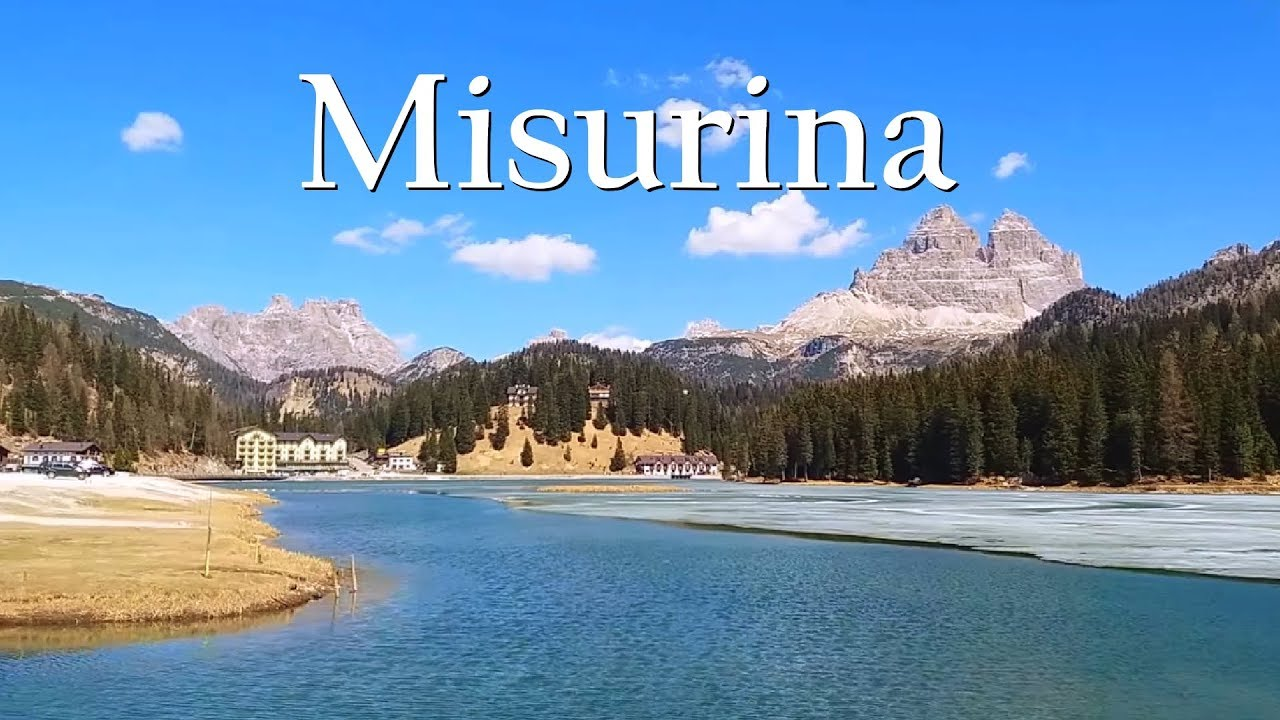 lake misurina cadore dolomites italia youtube. Black Bedroom Furniture Sets. Home Design Ideas